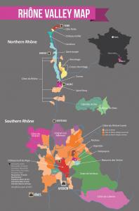 RhoneWine-RegionMap